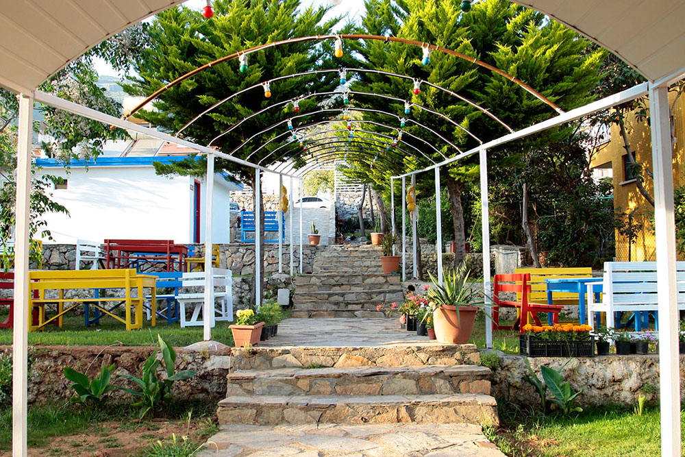 Sahil Restoranı Konsept İç Mimari Tasarım ve Uygulama