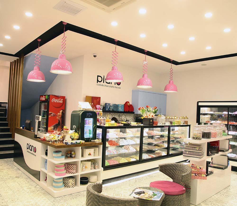 Cafe & Chocolate İç Mimari Tasarım ve Uygulama
