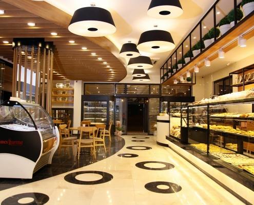 Pastane & Bistro İç Mimari Tasarım ve Uygulama