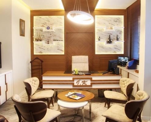 Çalışma Ofisi İç Mimari Tasarım ve Uygulama