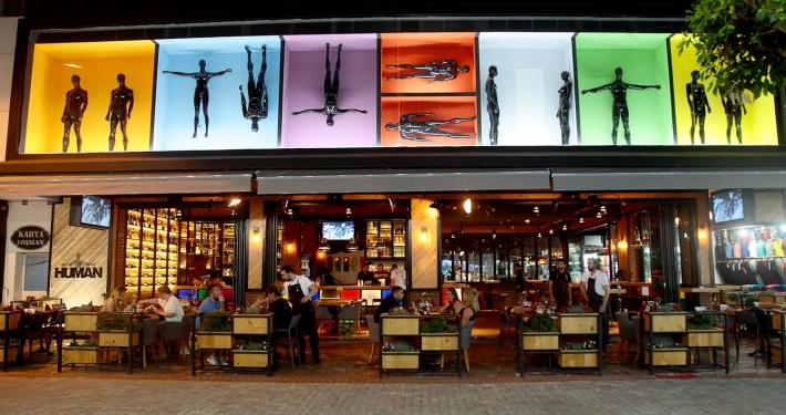 Gastropub & Sushi Konsept İç Mimari Tasarım