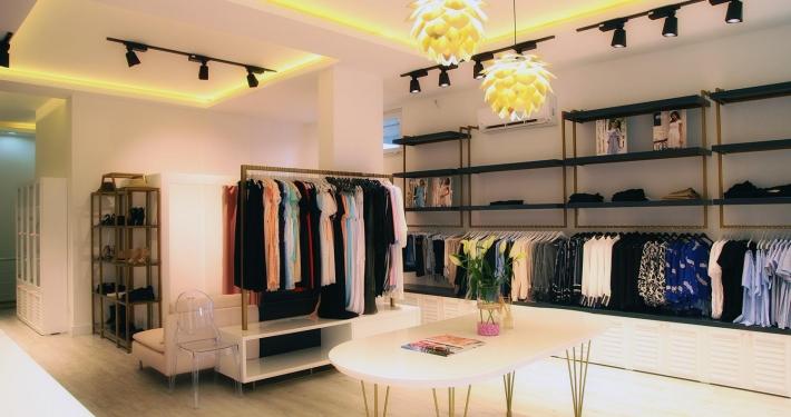 Hamile ve Çocuk Giyim Mağazası İç Mimari Tasarım ve Uygulama