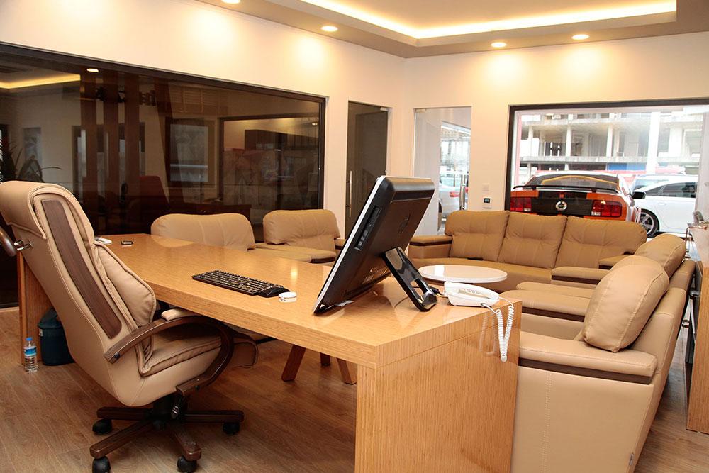 Yönetim Binası İç Mimari Tasarım ve Uygulama