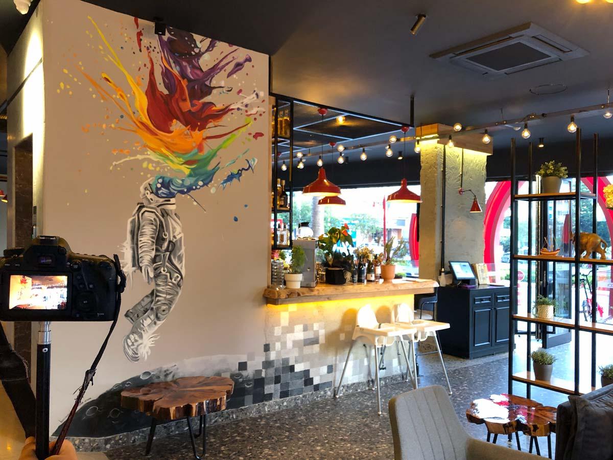 Alanya Cafe & Coffee İç Mimari Tasarım ve Uygulama