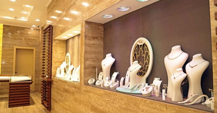 Altın ve Pırlanta Mağazası İçmimari Tasarım ve Uygulama