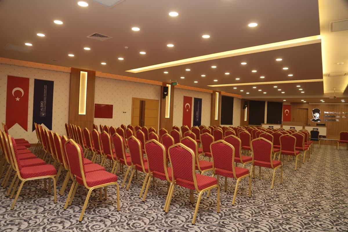 Konferans Salonu İç Mimari Tasarım ve Uygulama