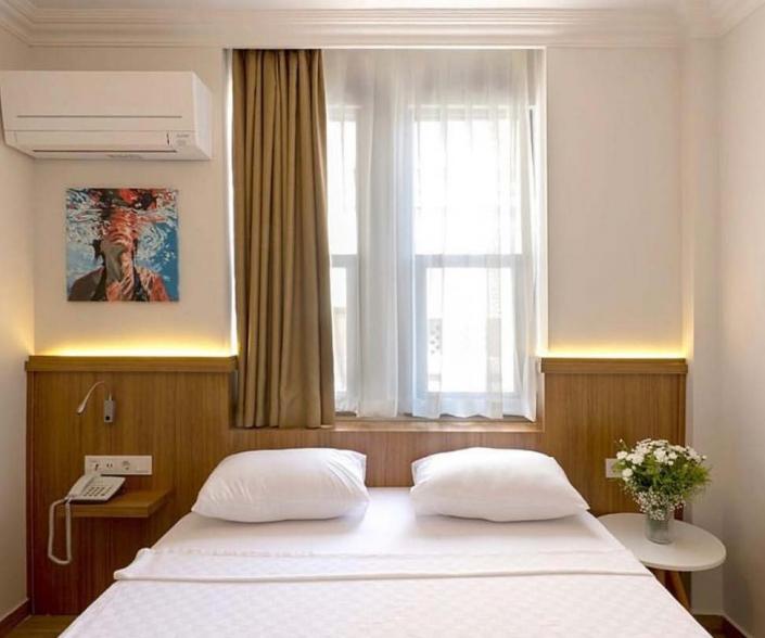Otel Odası İç Mimari Tasarım ve Uygulama