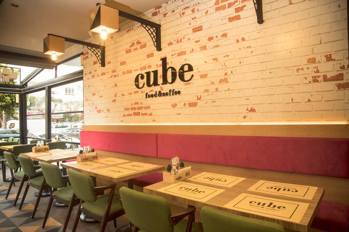 Fast Food & Coffee Restaurant İçmimari Tasarım ve Uygulama
